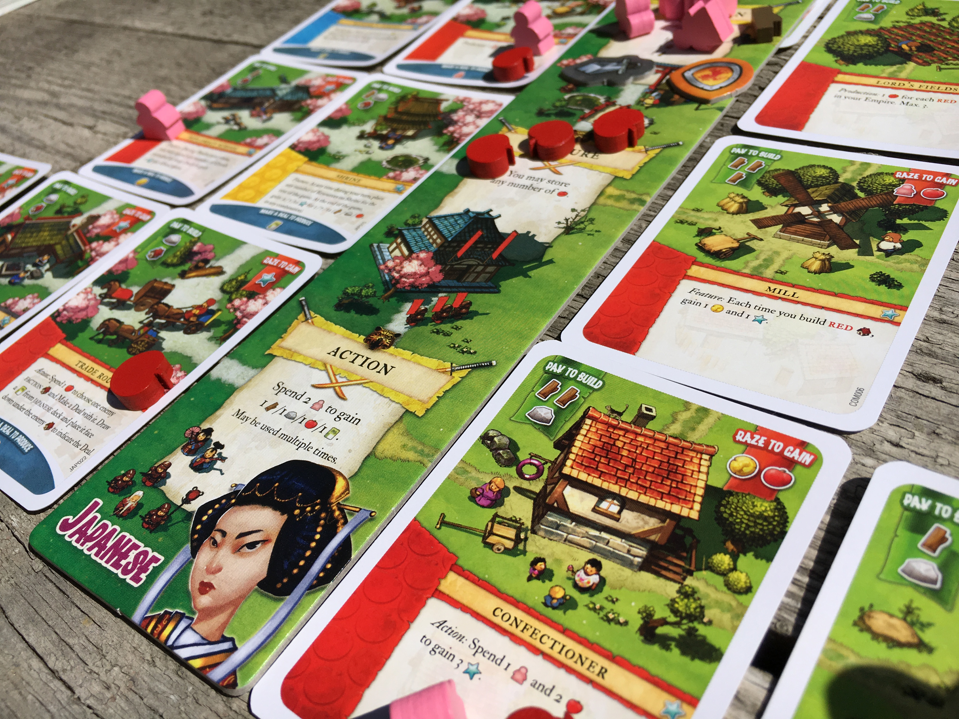 IMPERIAL SETTLERS Japan