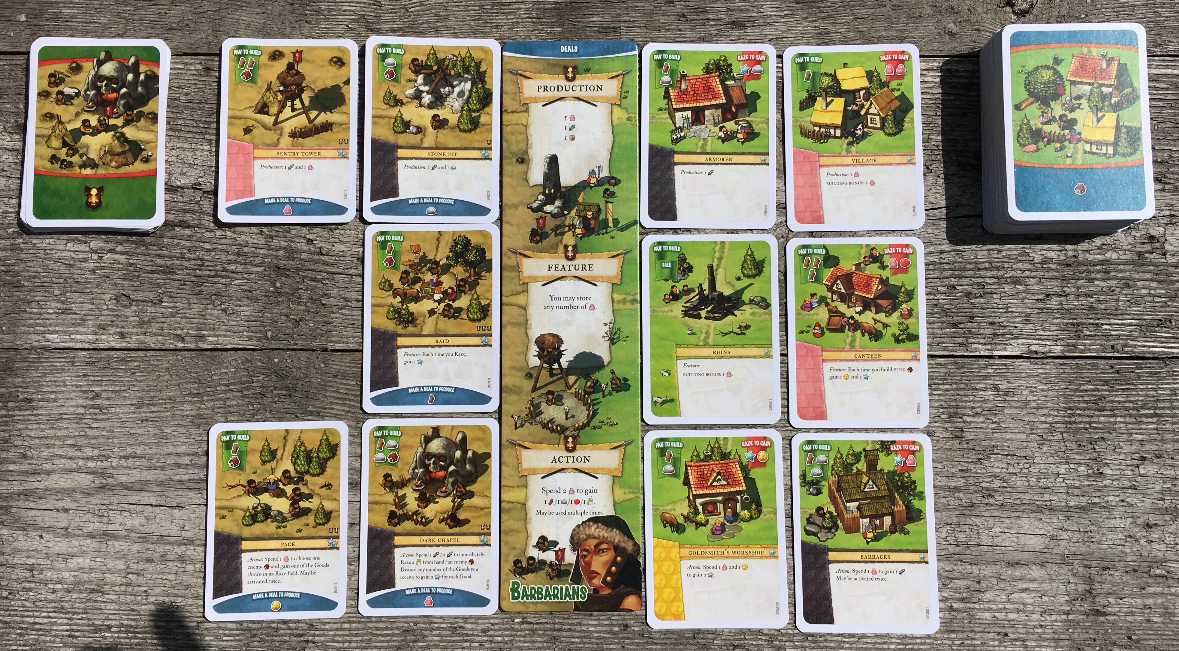 IMPERIAL-SETTLERS overzicht